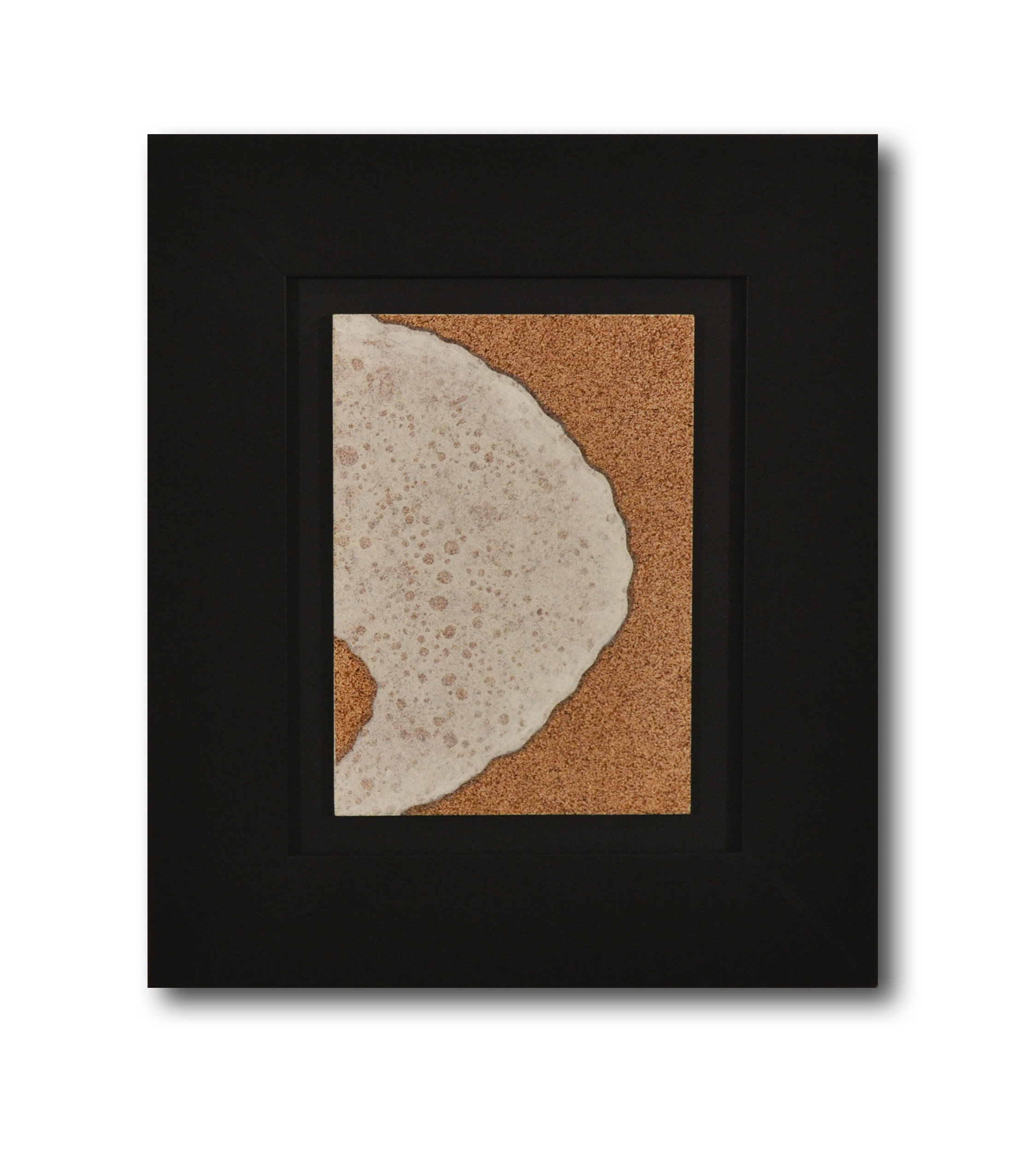 """Title: Dune 1 Artist: Mark Travers Year: 2011 Medium: Oil and acrylic on panel Size: 12"""" x 14"""" (including frame)"""
