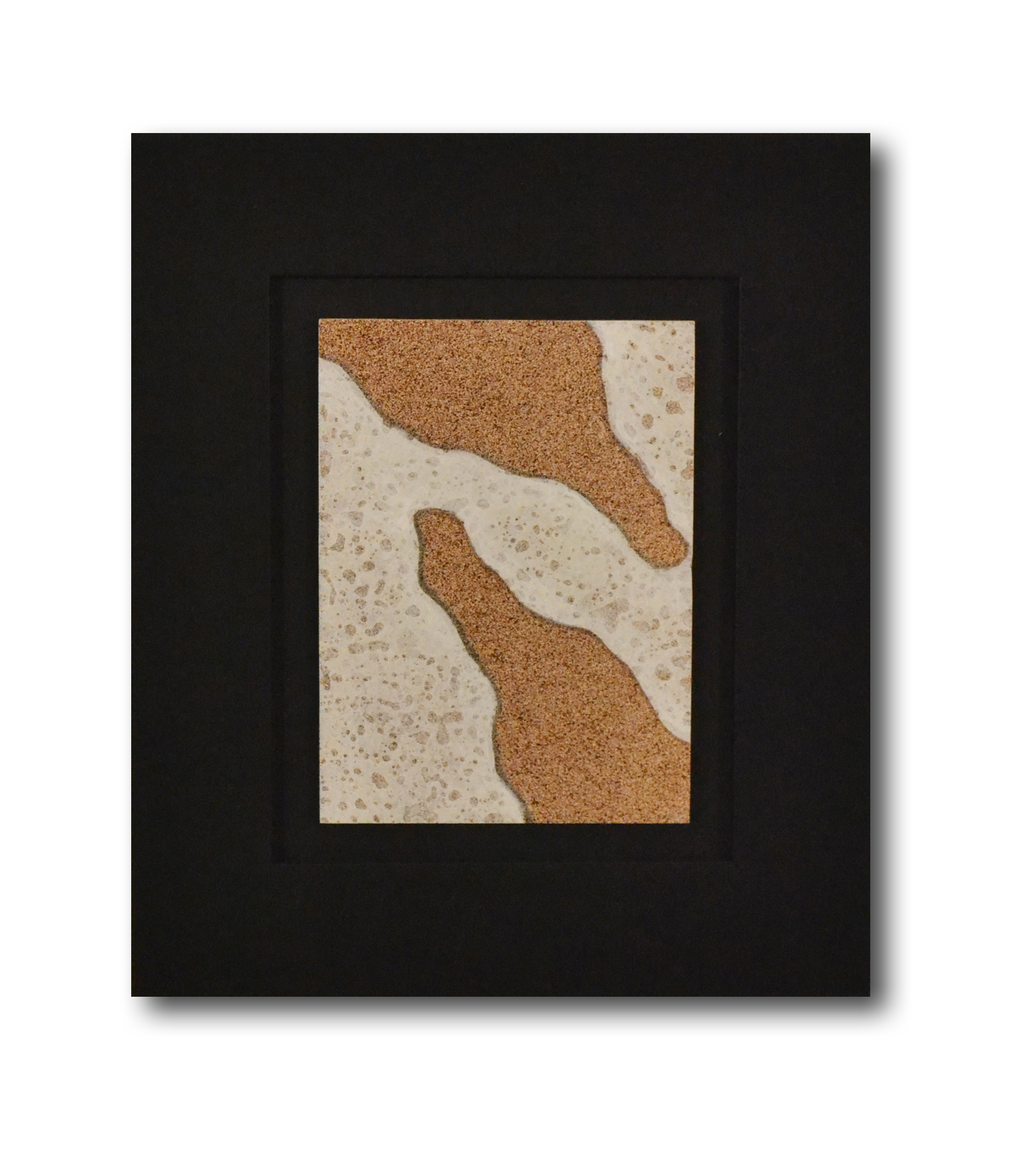 """Title: Dune 13 Artist: Mark Travers Year: 2011 Medium: Oil and acrylic on panel Size: 12"""" x 14"""" (including frame)"""