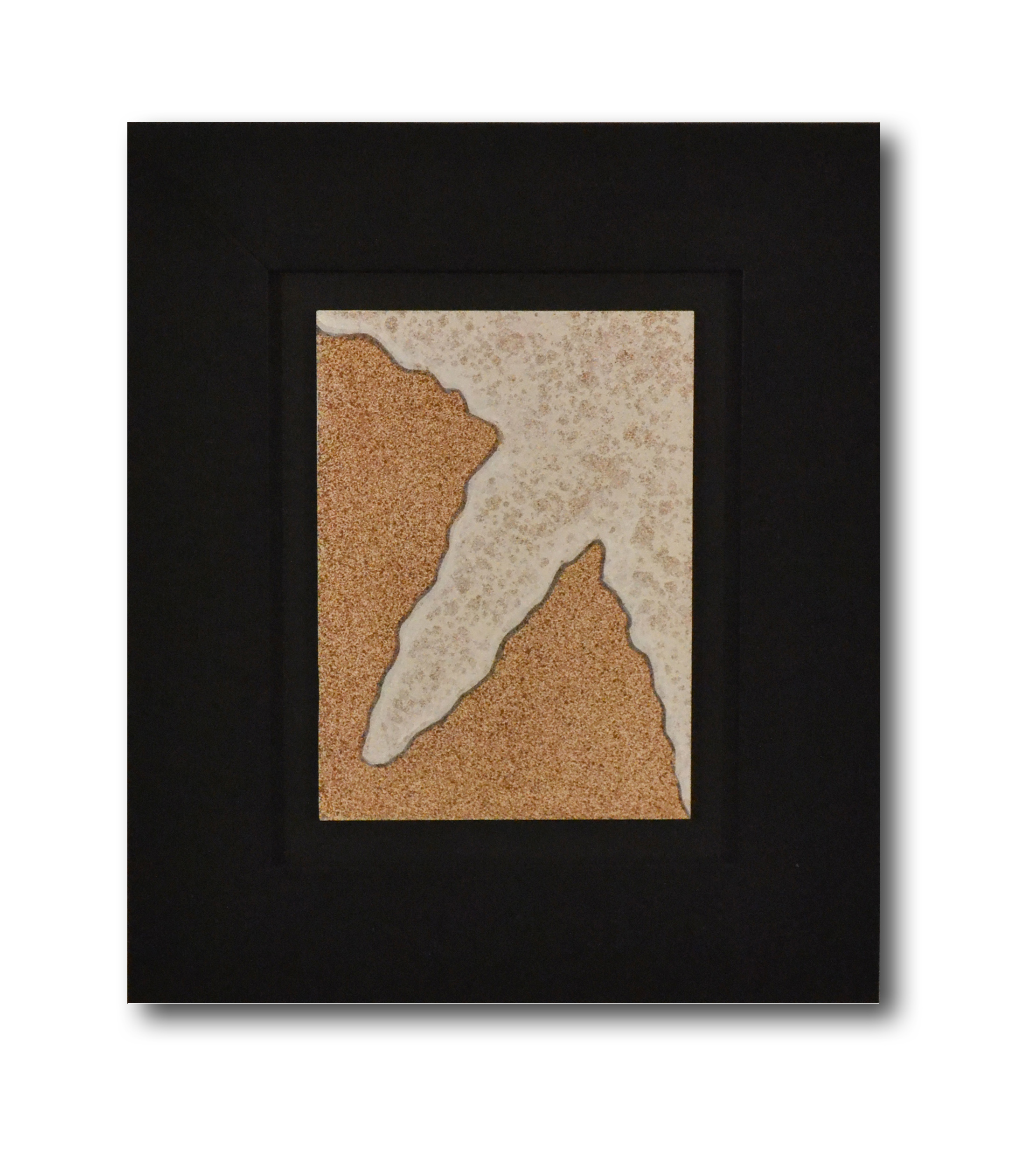 """Title: Dune 14 Artist: Mark Travers Year: 2011 Medium: Oil and acrylic on panel Size: 12"""" x 14"""" (including frame)"""