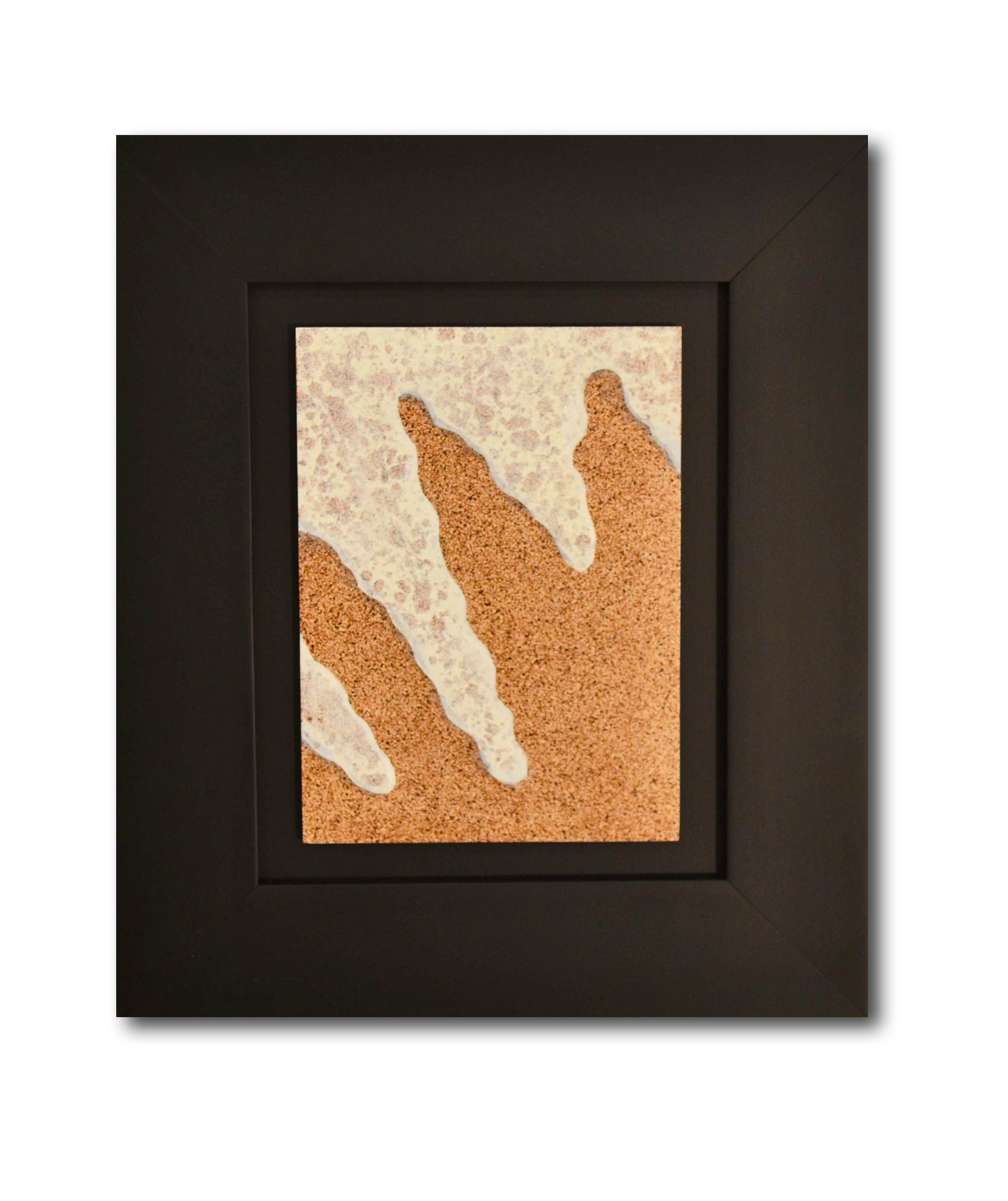 """Title: Dune 25 Artist: Mark Travers Year: 2011 Medium: Oil and acrylic on panel Size: 12"""" x 14"""" (including frame)"""