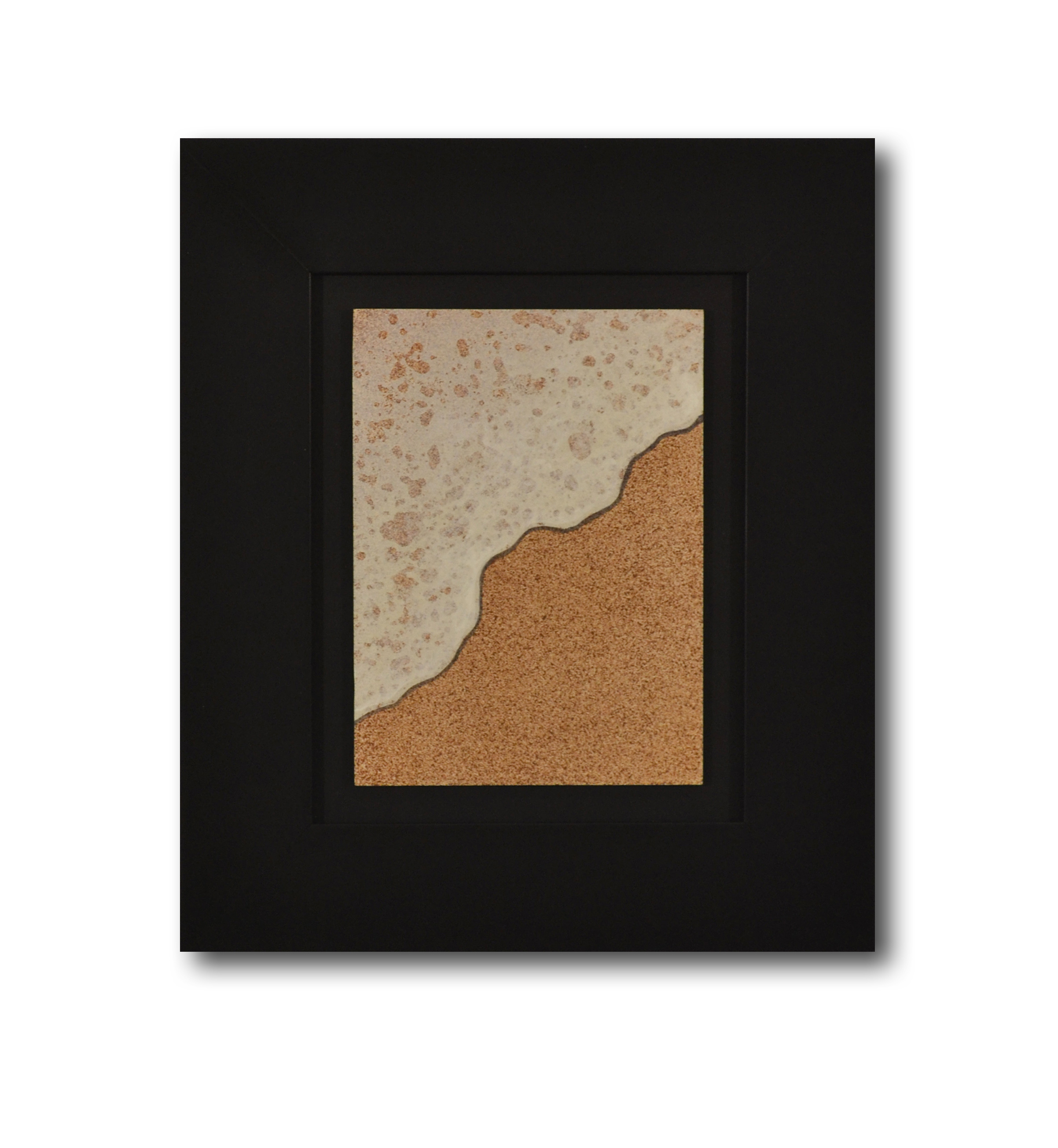 """Title: Dune 3 Artist: Mark Travers Year: 2011 Medium: Oil and acrylic on panel Size: 12"""" x 14"""" (including frame)"""